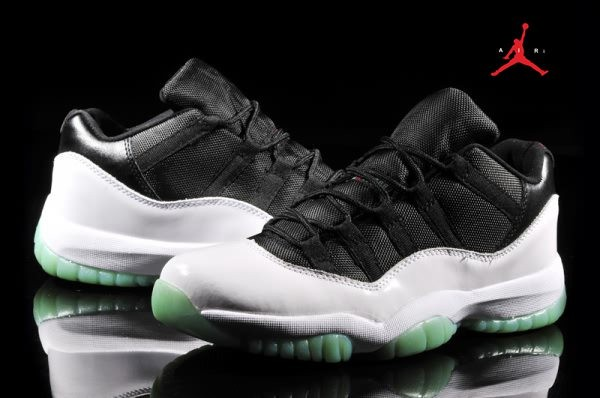 cb2726e5027 Air Jordan Retro 11 Low Black/White for Men