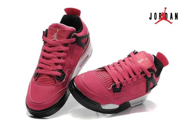 d69971dd8c97 Women Air Jordan 4 Retro Voltage Cherry White Black