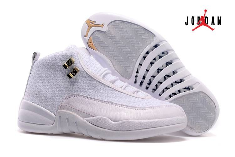 buy popular 6def8 07faf Cheap Wholesale Shoes Air Jordan 12 Future All White