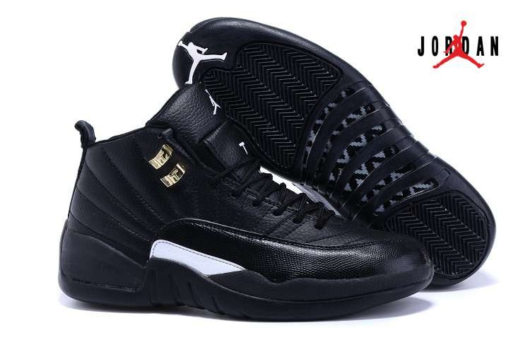 6ea789db81060a Cheap Wholesale Shoes Air Jordan 12 Retro Black White
