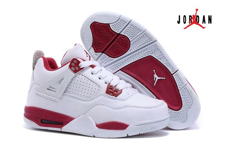 timeless design f5131 da917 Cheap Wholesale Air Jordan 4 Shoes Retro Kids 02