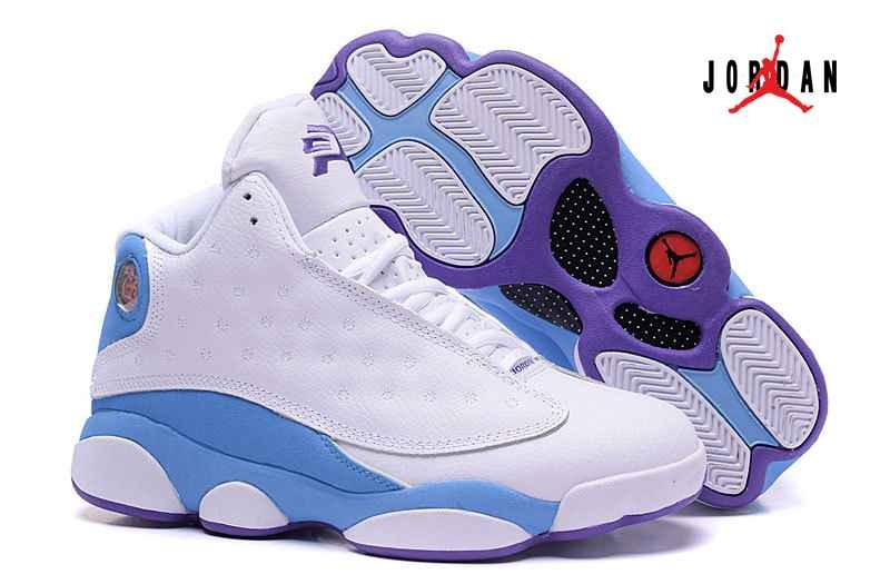 2588013f75a China Air Jordan 13 Chris Paul White/Blue/Purple