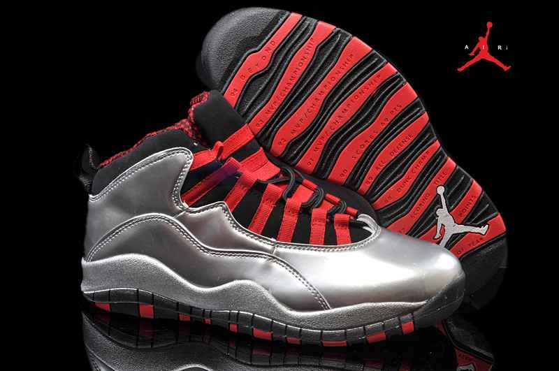 huge selection of 527d2 4b0d2 Air Jordan 10 Silver Shoes Retro Wholesale from China