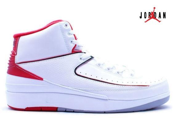 2c3d6800925041 Air Jordan 2   Jordan II Retro QF White   Varsity Red