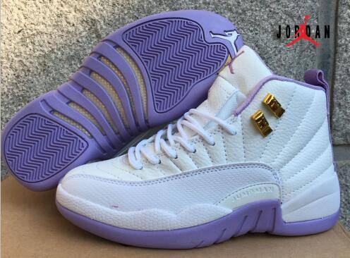Women Air Jordan 13 White Purple | Air