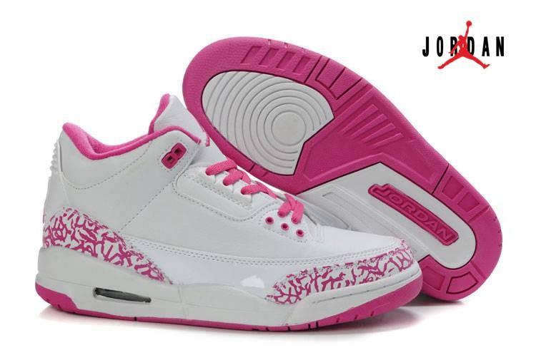 jordan 3 pink