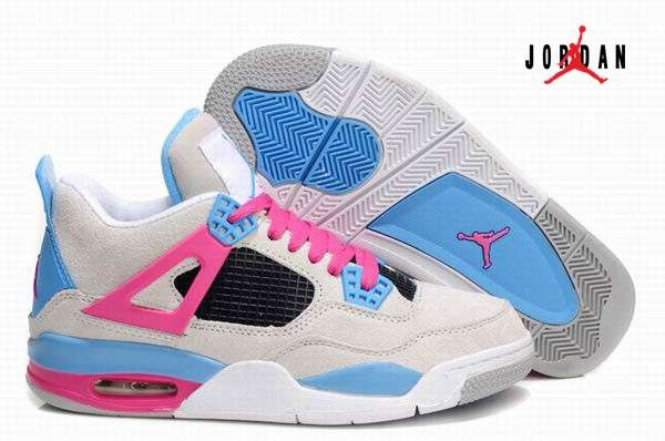 jordan 4 white and pink