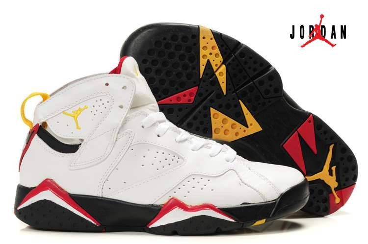 aac826758a80 ... low price women air jordan 7 retro shoes white black yellow red wmns air  jordan vii