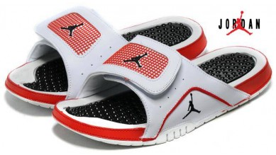 46892beecfa4a Air Jordan RCVR Slide Select Sandals Black   Red