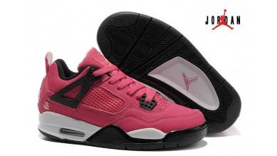 low priced ae53b 6e961 Women Air Jordan 4 Retro Voltage Cherry White Black